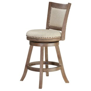 Dorrell 25 Swivel Bar Stool Gracie Oaks