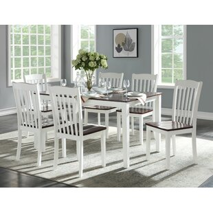 Zakary 7 Piece Dining Set by August Grove