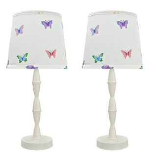 Strathmore Wood 20 Table Lamp (Set of 2)