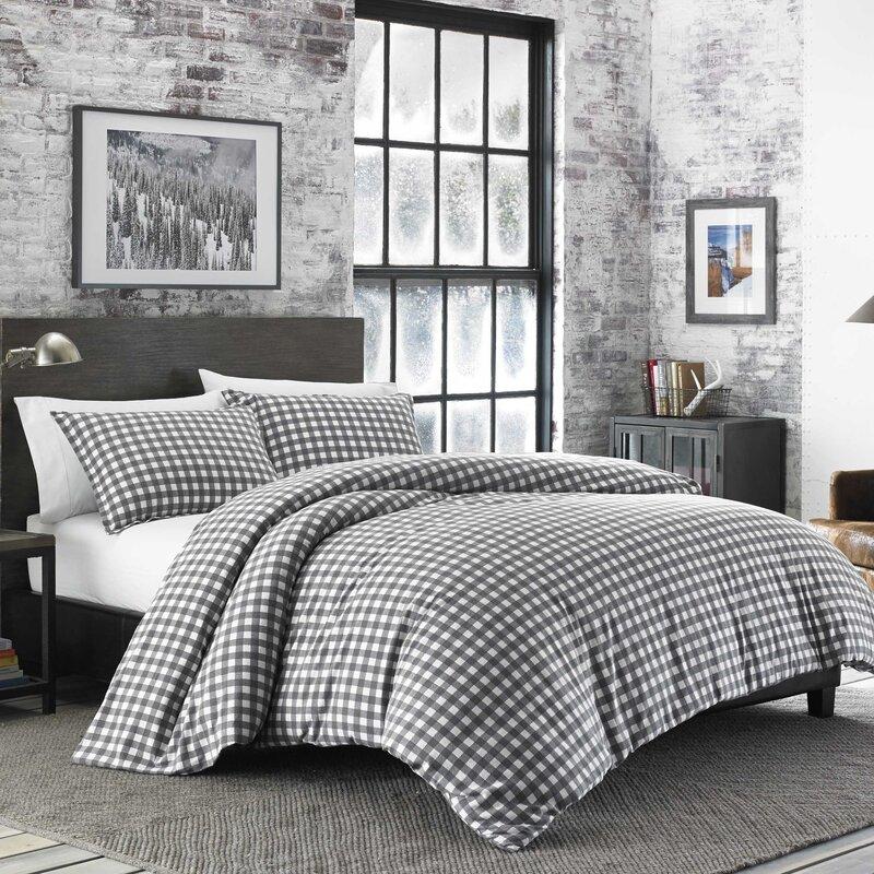 eddie bauer preston flannel comforter set & reviews | wayfair