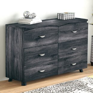 Ivy Bronx Clore Spacious 6 Drawer Double Dresser