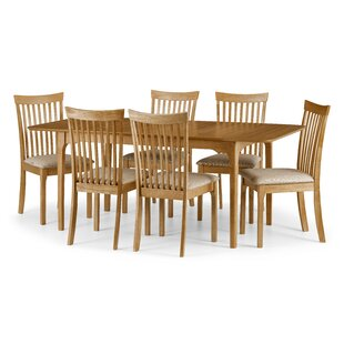 Dostie 7 Piece Extendable Dining Set With 6 Chairs By Natur Pur