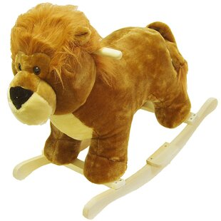 Purchase Lion Plush Rocker By Happy Trails