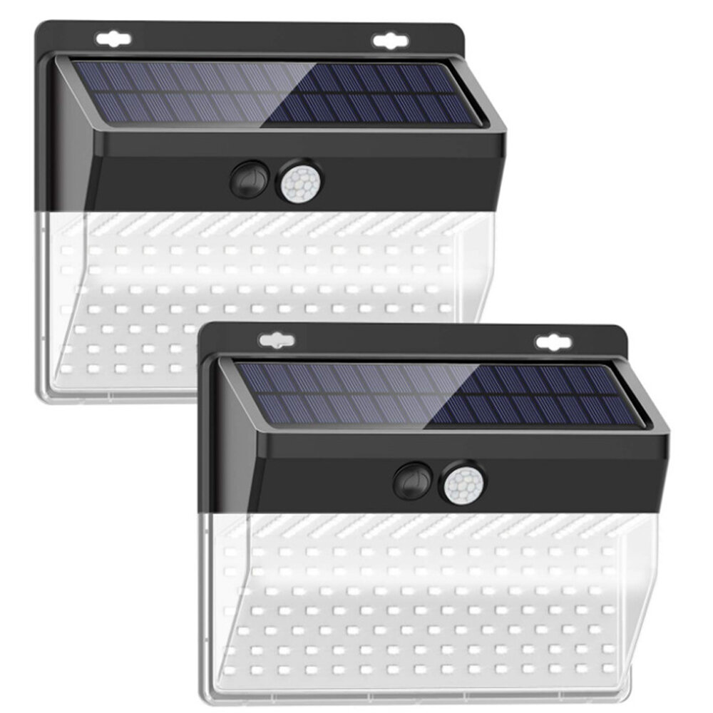 Morinome 5 Watt Led Solar Power Outdoor Security Wall Pack With Motion Sensor Pack Of 2 Wayfair