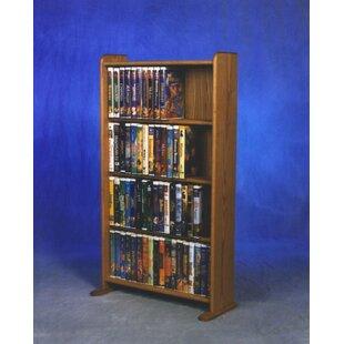 Wood Shed 400 Series 160 DVD Multimedia Storage Rack