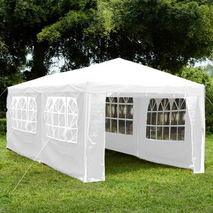 Dejong 3 X 6m Metal Party Tent By Sol 72 Outdoor