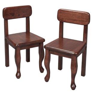 Bargain Queen Anne Child's Desk Chair (Set of 2) ByGift Mark