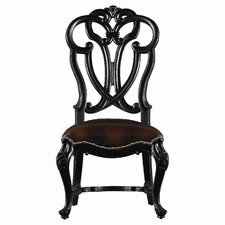 Costa Del Sol Messalina's Blessings Leather Side Chair by Stanley Furniture
