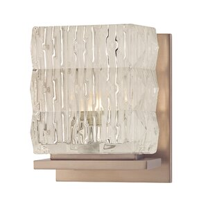 Abdo 1-Light Bath Sconce Everly Quinn