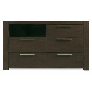 Brayden Studio Sirena 5 Drawer Media Chest