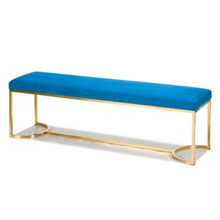 Koda Upholstered Bench by Everly Quinn