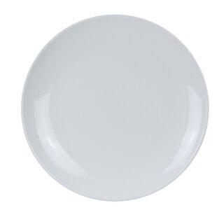 Pham Coupe Pattern Round Melamine Salad Plate (Set of 24)