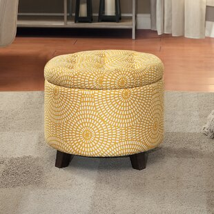 Great Price Greenland Tufted Storage Ottoman By House of Hampton