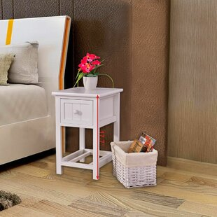 Rigsby 2 Layer End Table with Storage