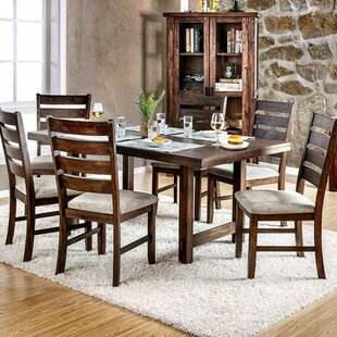 Millwood Pines Weigel Transitional Dining Table