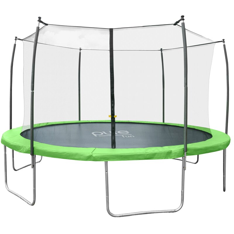 Dura-Bounce 14' Round Trampoline with Safety Enclosure