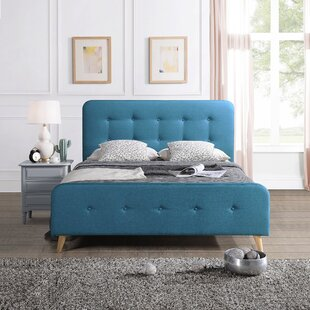 Houck Queen Upholstered Platform Bed by Trule Teen