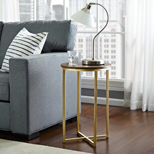 Modern Contemporary Rose Gold End Table AllModern