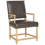 Fleur Upholstered Arm Chair in Brown by Ophelia & Co.