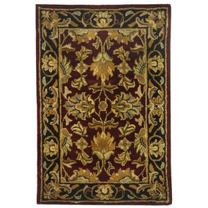 Cranmore Red Area Rug