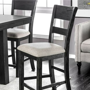 Zelma Solid Wood Dining Chair (Set of 2) Gracie Oaks