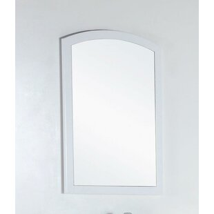 Reviews Wood Framed Bathroom Wall Mirror By Bellaterra Home