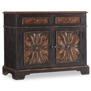 Hooker Furniture Grandover 2 Drawer 2 Door Accent Cabinet