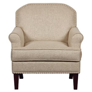 Bumgardner Roll Armchair by Charlton Home