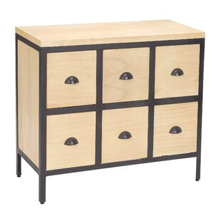 Massie 6 Drawer Chest by Gracie Oaks