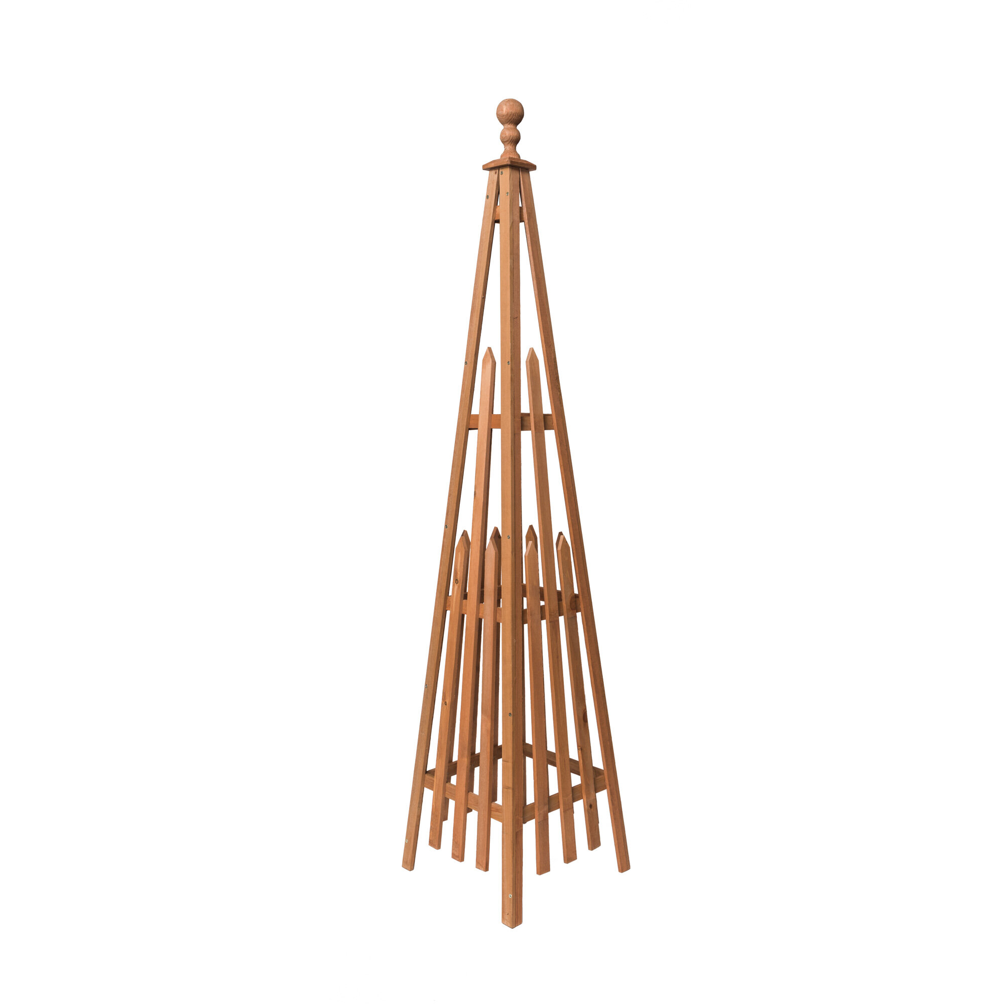 Flamino Wood Obelisk Trellis