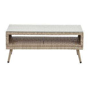 Bungalow Rose Pantano Outdoor Coffee Table