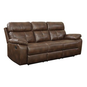 Bismarck Motion Reclining Sofa by Red Barrel..