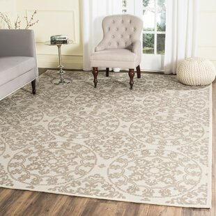 Great choice Charing Cross Hand-Loomed Natural/Taupe Area Rug ByCharlton Home