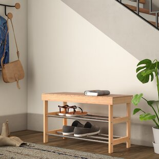 6 Pair Shoe Storage Bench By 17 Stories