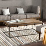 Pettey Trestle Coffee Table by 17 Stories