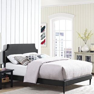 Read Reviews Ebony Upholstered Platform Bed by Andover Mills Reviews (2019) & Buyer's Guide
