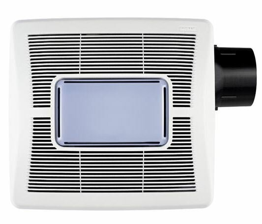Invent Single Sd 50 Cfm Bathroom Fan With Light