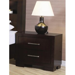 Steadham 2 Drawer Nightstand