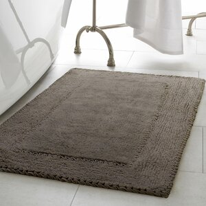 Ruffle Cotton Bath Rug
