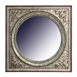 Gracie Oaks Pickell Wood Framed Large Wall Accent Mirror
