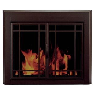 Enfield Prairie Cabinet Style Steel Fireplace Doors by Pleasant Hearth