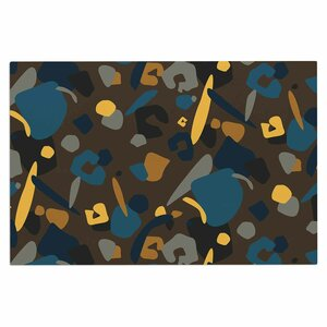 'Abstract Leopard' Doormat