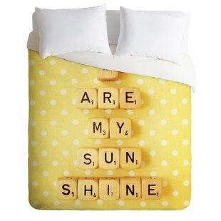 East Urban Home You Are My Sunshine Duvet Cover Set