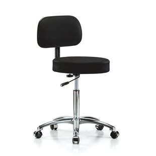Virco Metaphor Height Adjustable Lab Stool With Casters