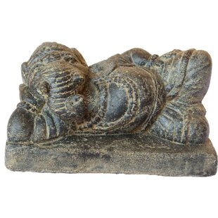 Veans Reclining Ganesha Statue By World Menagerie