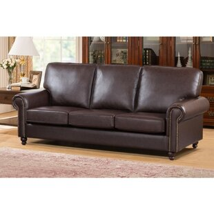 Arrowood Sofa with Back and Seat Cushion by Andover Mills