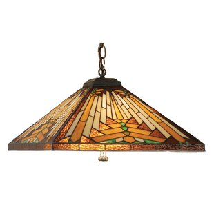 Meyda Tiffany Mission Southwest Nuevo 3-Light Pool Table Light