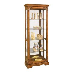 Philip Reinisch Co. Andante II Lighted Curio Cabinet