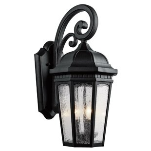 Courtyard 3-Light Outdoor Wall Lantern