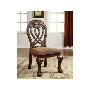 Risa Upholstered Dining Chair (Set Of 2) Read Reviews